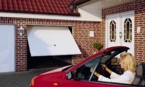 bramy garazowe - uchylne
