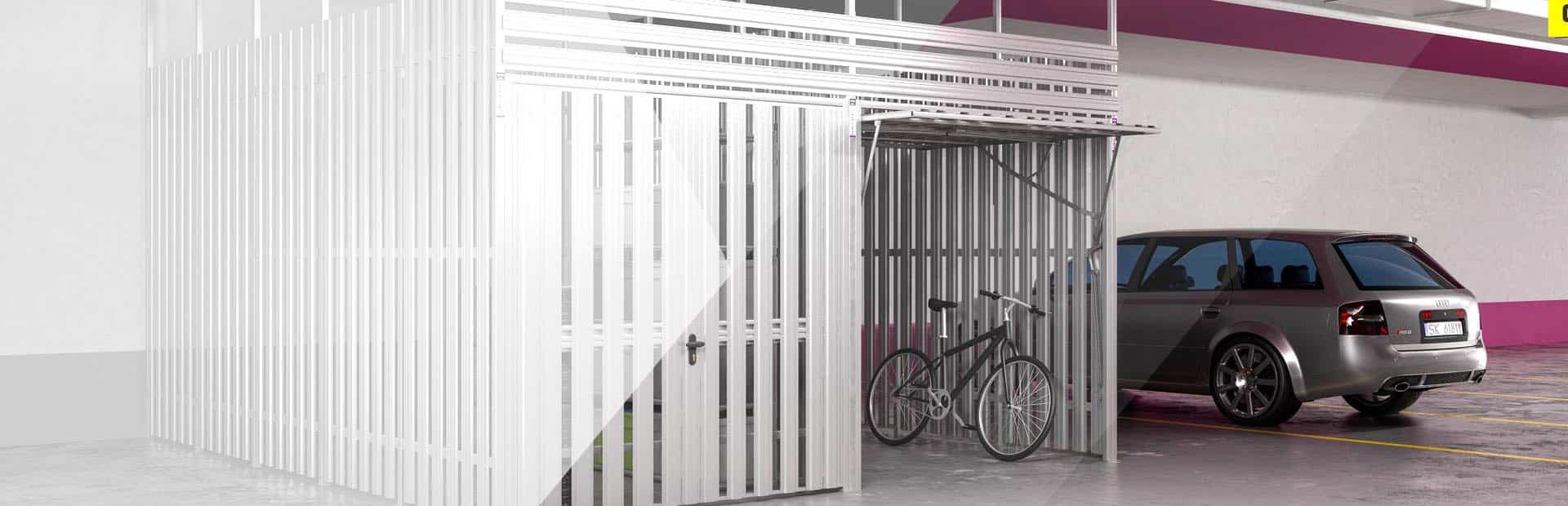 Zabudowy Garaży i komórek